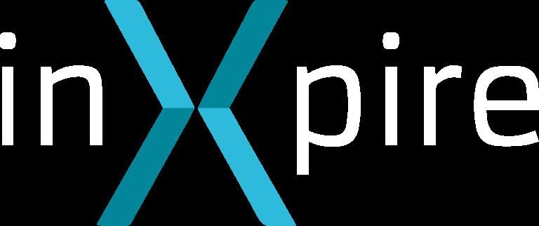 Logo Inxpire lettere bianche