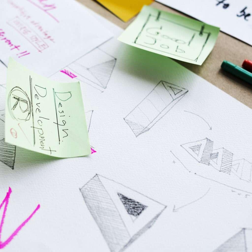 Startup Business Logo Brand Idea Design Development Plan